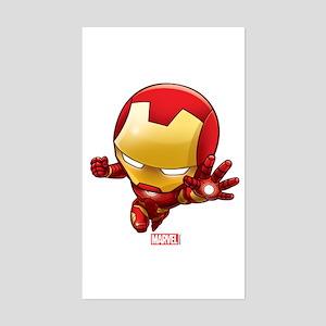 Iron Man Stylized 2 Sticker (Rectangle)