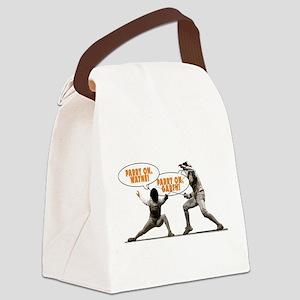 Wayne's Piste Canvas Lunch Bag