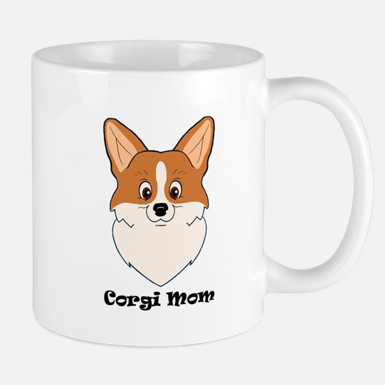 Corgi Mom Mugs