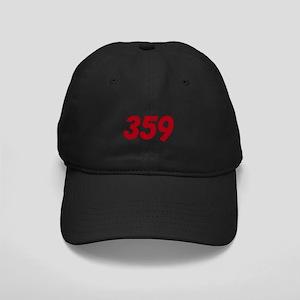 Peterbilt 359 Truck Black Cap