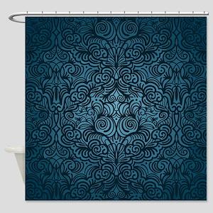 Blue Storm Shower Curtain
