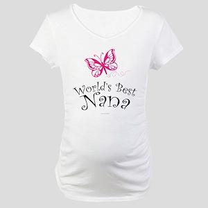 World's Best Nana Maternity T-Shirt