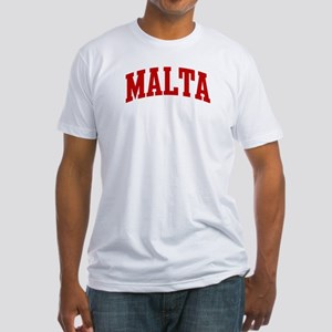 MALTA (red) Fitted T-Shirt
