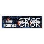 Stage Grok Bumper Sticker