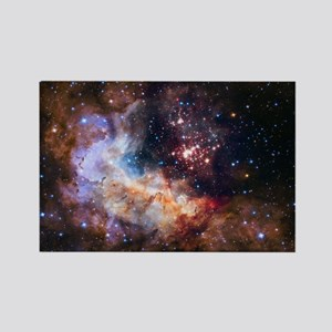 Hubble @ 25 Image Rectangle Magnet