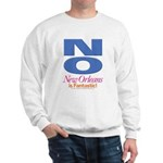 New Orleans Is Fantastic Sweatshirt (white)