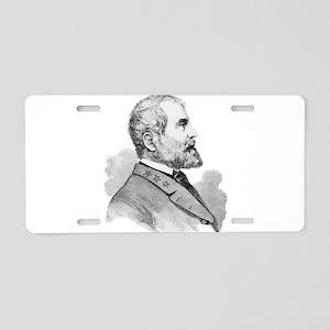 Robert E Lee Portrait Illus Aluminum License Plate