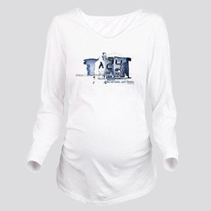 24 Angry Long Sleeve Maternity T-Shirt
