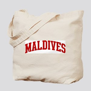 MALDIVES (red) Tote Bag