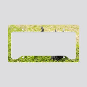 Scottie Dog License Plate Holder