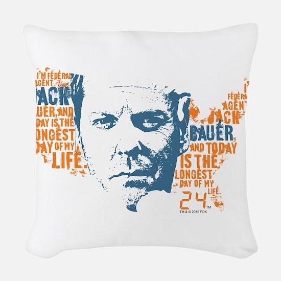 24 Jack Woven Throw Pillow