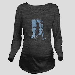 24 Bauer Long Sleeve Maternity T-Shirt