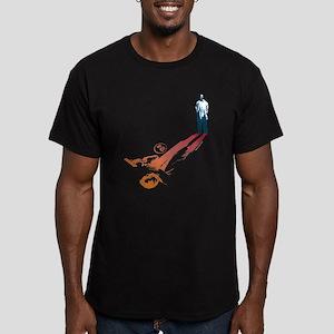 24 Shadow Men's Fitted T-Shirt (dark)