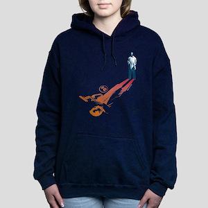 24 Shadow Women's Hooded Sweatshirt