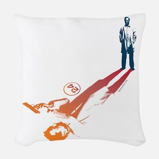 24 Shadow Woven Throw Pillow