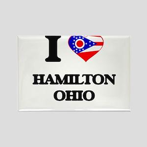 I love Hamilton Ohio Magnets