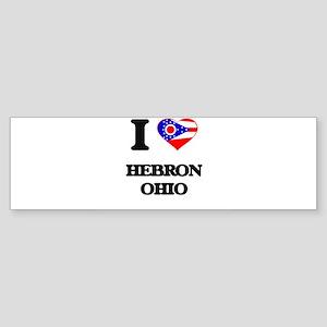I love Hebron Ohio Bumper Sticker