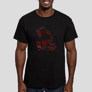 24 Go Dark Men's Fitted T-Shirt (dark)