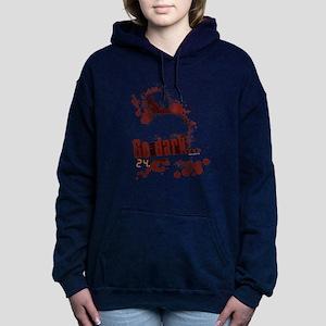 24 Go Dark Women's Hooded Sweatshirt