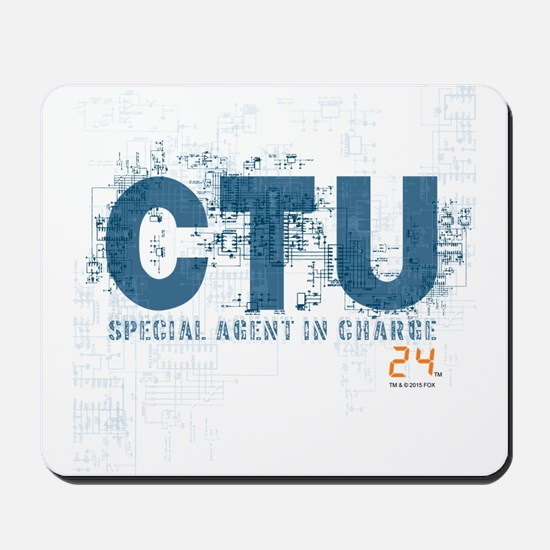 24 Special Agent Mousepad