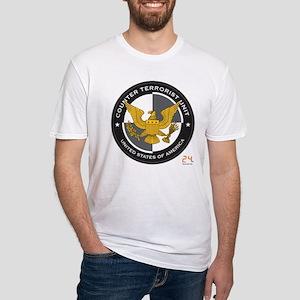 24 CTU Logo Fitted T-Shirt