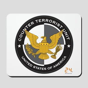 24 CTU Logo Mousepad