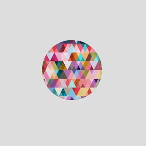 Triangle Mix #5 Mini Button