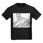 Cheetah Cub Kids Dark T-Shirt