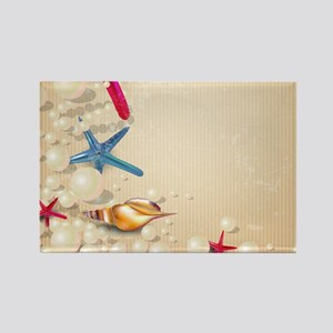 Decorative Summer Beach Sand Shells Magnets