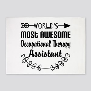Occupational Therapy Assistant 5'x7'Area Rug