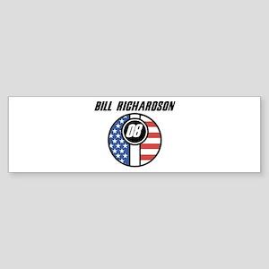 Bill Richardson 08 Bumper Sticker