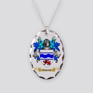 Lutheran Necklace Oval Charm