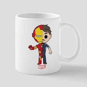 Iron Man Half-and-Half Mug