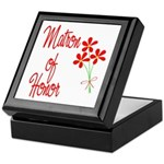 Bouquet Matron of Honor Keepsake Box
