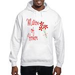 Bouquet Matron of Honor Hooded Sweatshirt