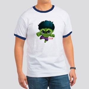 Hulk Stylized Ringer T
