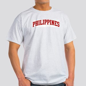 PHILIPPINES (red) Light T-Shirt