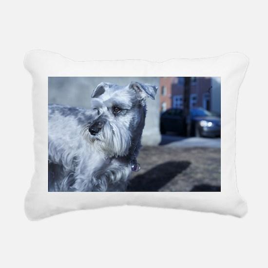 Pensive Rectangular Canvas Pillow