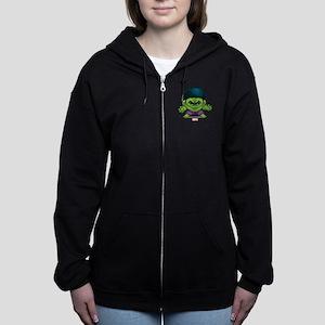 Hulk Stylized Women's Zip Hoodie