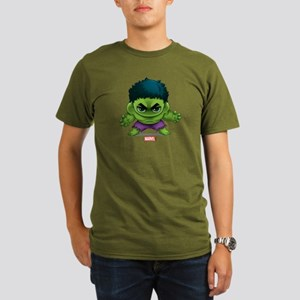 Hulk Stylized Organic Men's T-Shirt (dark)