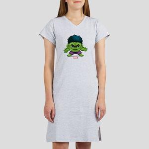 Hulk Stylized Women's Nightshirt