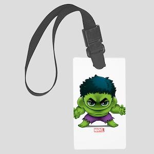 Hulk Stylized Large Luggage Tag
