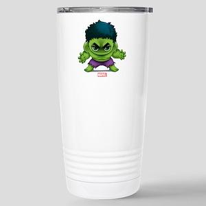 Hulk Stylized Stainless Steel Travel Mug