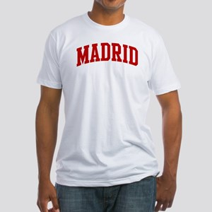 MADRID (red) Fitted T-Shirt