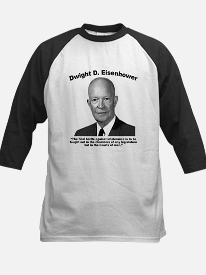 Eisenhower: Intolerance Kids Baseball Jersey