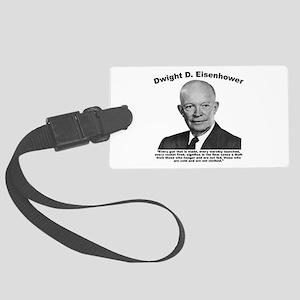 Eisenhower: Theft Large Luggage Tag