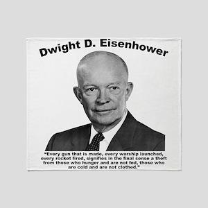 Eisenhower: Theft Throw Blanket