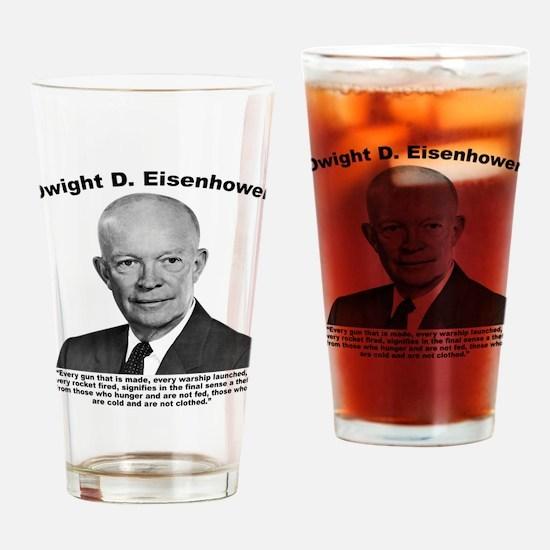 Eisenhower: Theft Drinking Glass