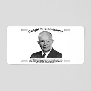 Eisenhower: Theft Aluminum License Plate