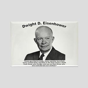 Eisenhower: Theft Rectangle Magnet